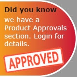 Approvals Certificates